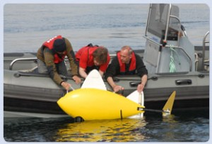 SHOAL Robotic Fish Trial Launch