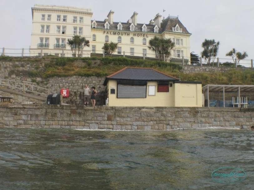 Castle Beach Cafe Castle Beach Falmouth
