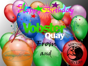 Vobster Quay 10th Birthday Card